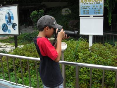 一眼レフカメラを使いカメラマン気分♪ ~上野動物園~