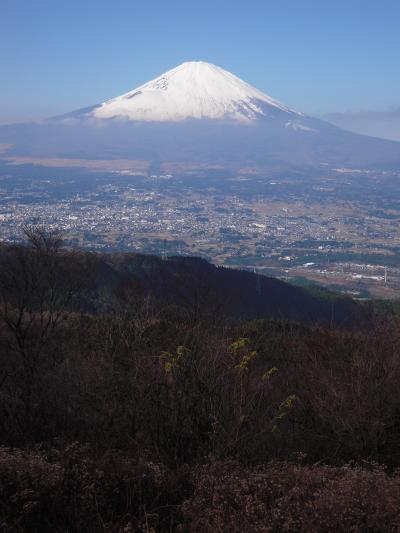 金時山トレッキング 富士山に癒されて!