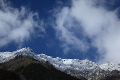 石鎚山系 雪景色の瓶ヶ森