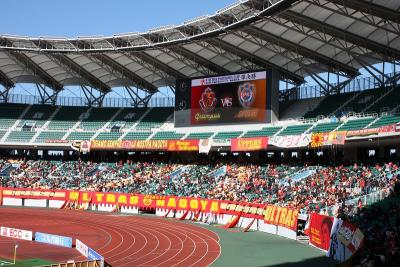 2009年 年末の旅① エコパで天皇杯観戦
