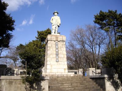 銅像山(浅野総一郎)からの横浜の風景