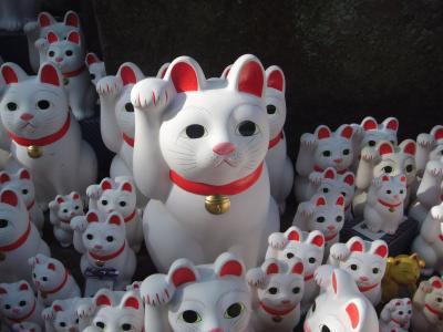 世田谷線で招き猫のお寺 豪徳寺へ♪