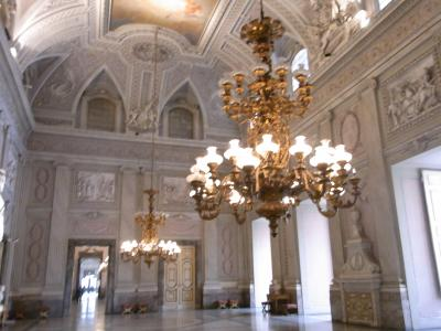 南イタリア1人旅★秘密のカゼルタ王宮