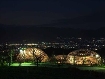 「新日本三大夜景」を見に行こうよin笛吹川フルーツ公園