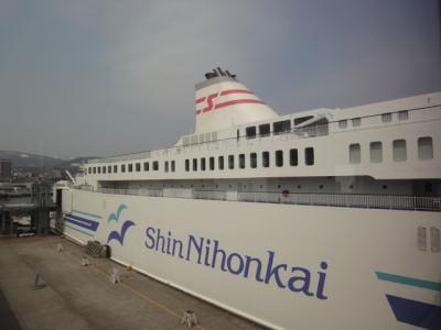 GW船の旅~新日本海フェリー乗船~