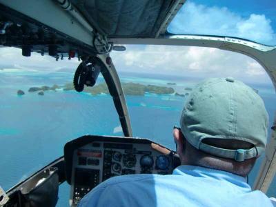 パラオでゴールデンウイーク~(3)ヘリコプターでロックアイランド