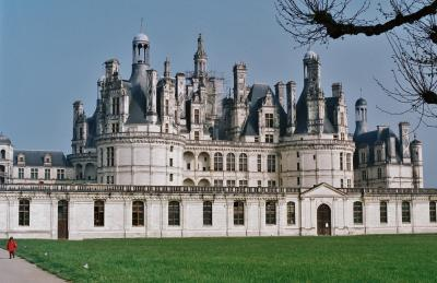 勤続25年記念旅行②パリとロアールのお城  Paris 1995