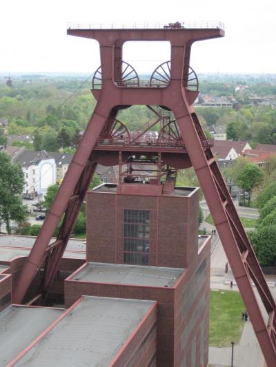 心の安らぎ旅行(2010年♪Essen エッセン Zollverein ツォルフェライン炭鉱跡 Part2)