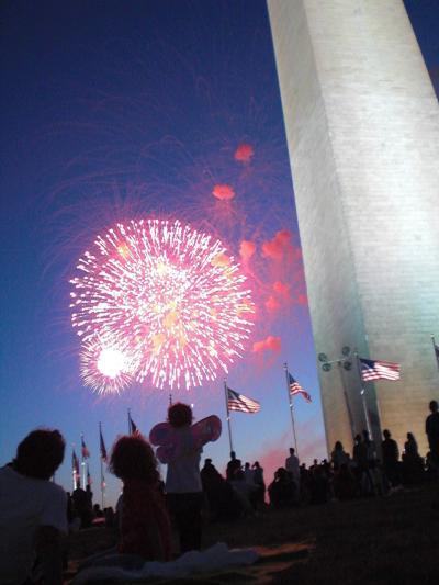 独立記念日の花火