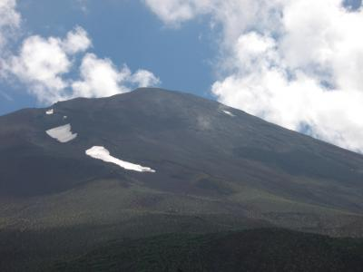 バス旅行で富士山(五合目)&氷穴&樹海散策