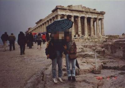 90年代のギリシャ1990.2 「転職合間にアクロポリス」  ~アテネ~