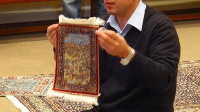 トルコ伝統工芸 ハドサン絨毯工場見学