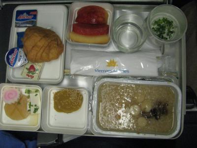 機内食グルメ(エコノミー)旅~ベトナム航空 その2~