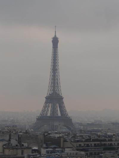 パリでクリスマスイルミネーション2