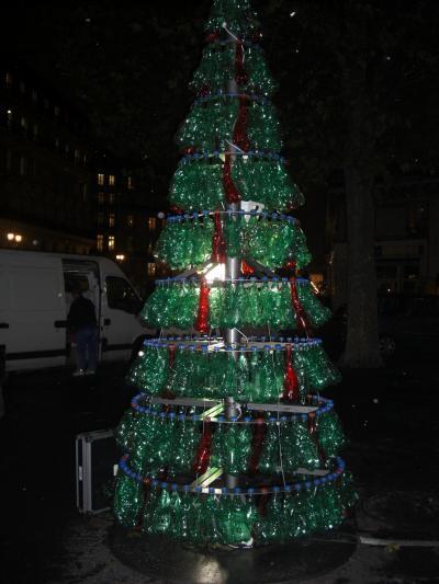 パリでクリスマスイルミネーション4(パリ市内)