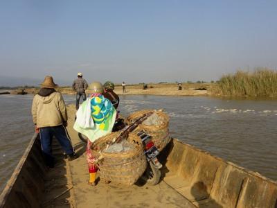 [雲南] 瑞麗の向こう側④ 一寨両国 - ミャンマー人大量輸送ルートをゆく