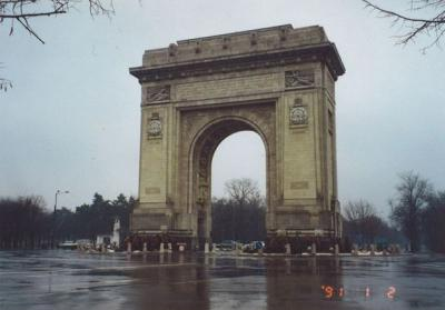 90年代のルーマニア1991.1 「年末年始に革命の跡を巡る」  ~ブカレスト~