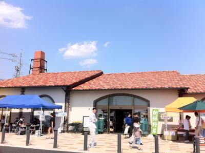 道の駅「瀬戸しなの」(品野陶磁器センタ−)と深川神社の宮前地下街(瀬戸市内)