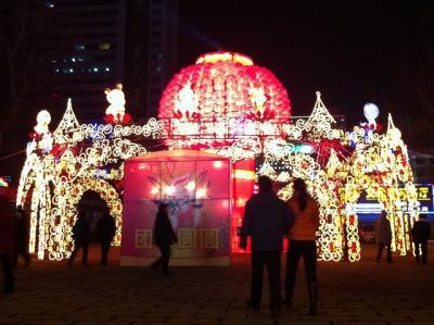 中国山東省煙台市短期出張、春節と山東料理