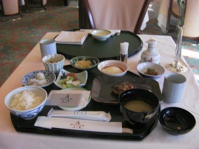 飛鳥II 神戸発着 陽春の日南クルーズNo.14 日南(油津)朝食