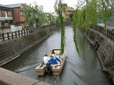 霞ヶ浦湖畔サイクリング、水の郷佐原の酒蔵と街並み