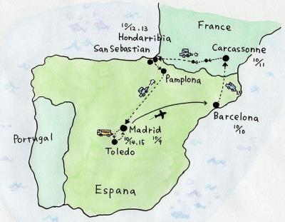 スペイン北部・フランス南部のレンタカー旅! その4