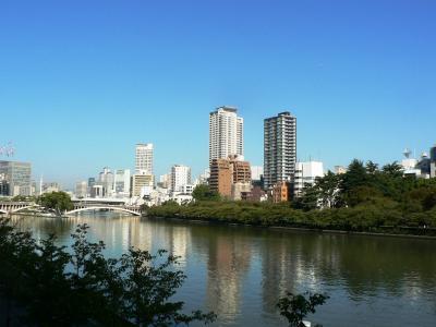 日本の旅 関西を歩く 大阪市中央区の八軒家船着場(はちけんやふなつきば)周辺