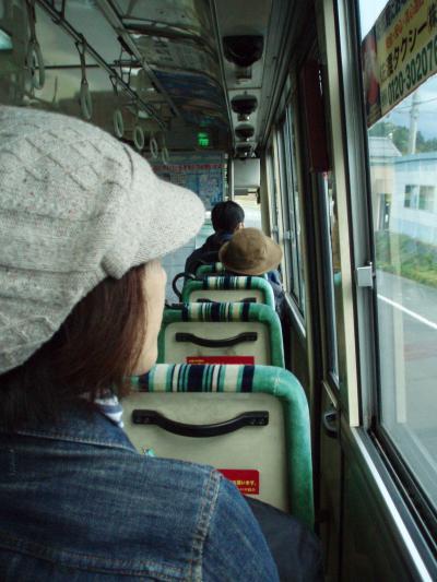 11月佐渡路線バスの旅