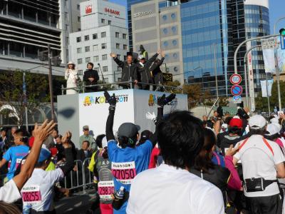 神戸マラソン2011 42.195キロの旅路(2) 大会当日編