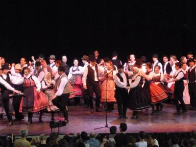 民族舞踊フェア@ブダペスト