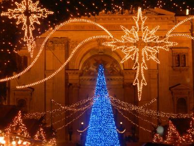 ブダペストのクリスマスイルミネーション 2011