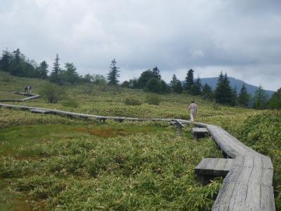 群馬県の温泉(2011年6月)。。。その4「草津白根山 弓池園地」