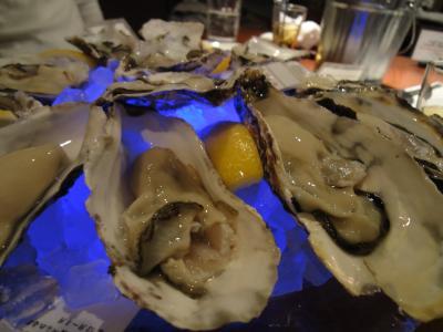 週末ちょっとおでかけ 牡蛎と水族館