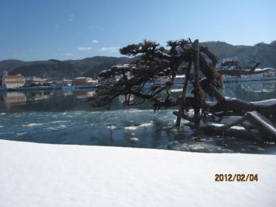 石巻・松島・塩竃1日旅行(3)石巻・旧北上河畔の散策。