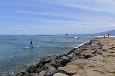 マウイ島・ラハイナで車なしサーフィン!