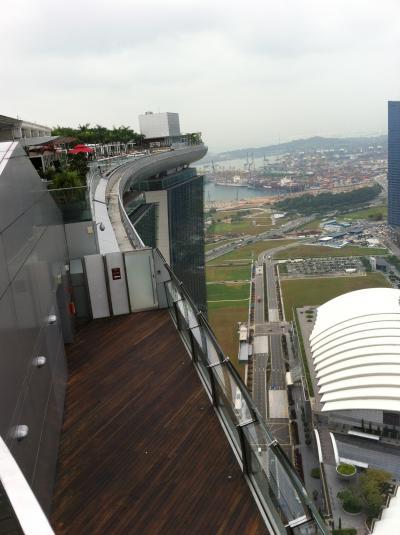 A380で行くシンガポール7/マリーナベイサンズ編