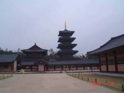 3度目の韓国、百済を探してソウル・扶余・公州・全州へ-6-扶余編、百済文化団地、百済歴史文化館