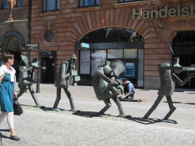 デンマーク、(スウェーデン)、ドイツ、イタリア  ヨーロッパ縦断鉄道の旅 ②スウェーデン
