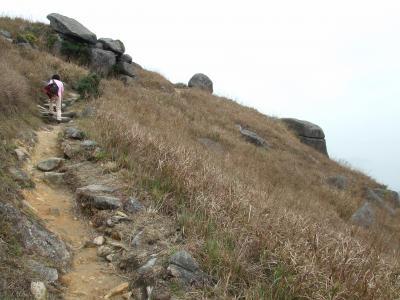 農暦新年明けの2月、大東山へ(2011年)。