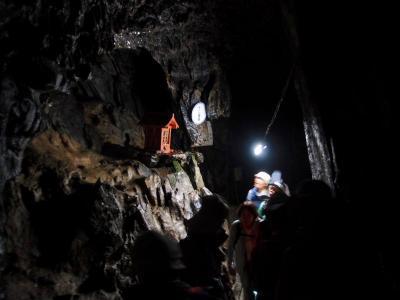 奥多摩 日原鍾乳洞散策