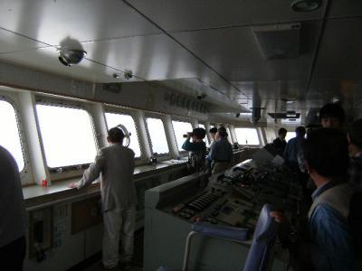金環日食を宮崎の船上から観測で