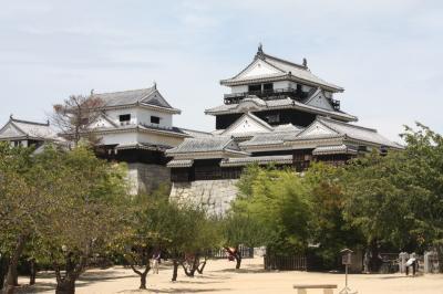 機能美・松山城と海の城・今治城