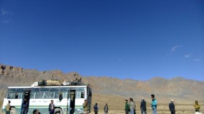 ラダックへの旅3 壮大かつ過酷なレー-マナリ道路 (Stunning but hectic Leh-Manali road)