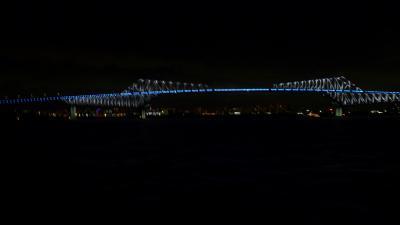 2012年9月 ゲートブリッジを御座船 安宅丸から見ました!