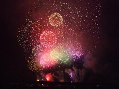 2008 長岡花火と北陸・飛騨の旅【その2】長岡花火大会
