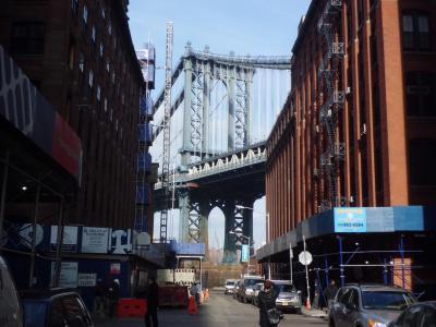 ホリデーシーズンのニューヨークとシカゴ07:ブルックリン橋、ハイライン