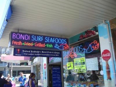 シドニー観光名所の見て歩き(その3:ボンダイビーチと中心街)