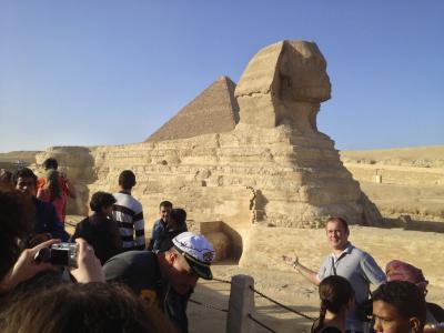 エジプトでピラミッドを見て来ました 2013年1月