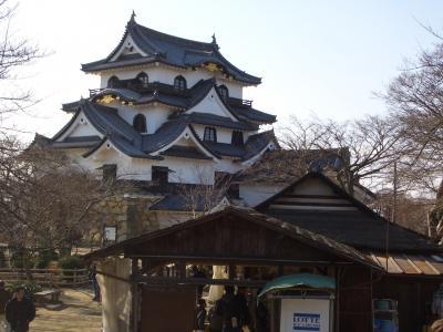 [城]盆梅展とSLと彦根城(2013.2.3)
