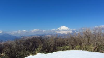 雪道トレーニング ~絶景富士の連続 丸岳~
